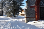 Penzion u sv. Rocha v zimě